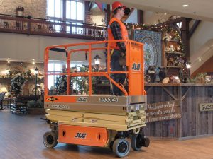 JLG 10 Meter & 12 Meter Scissor Lift Hire – Ludlow Tool and