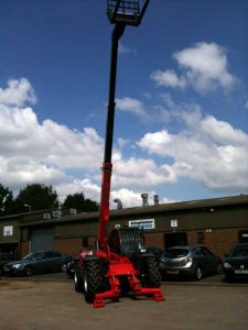 Manitou 10 Meter Teleporter/Loader Hire – Ludlow Tool and