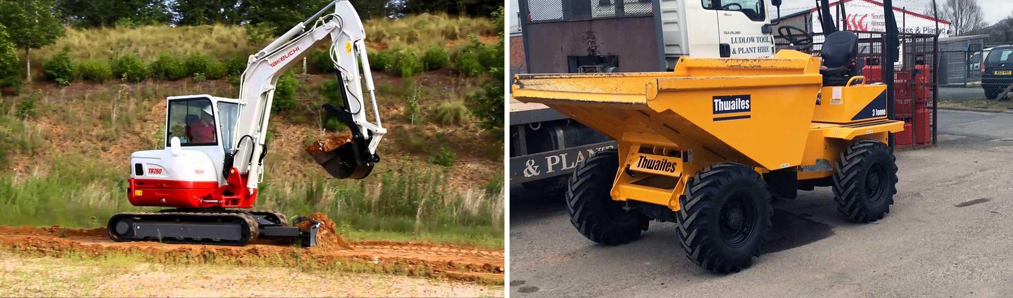 Excavator and Dumper Hire