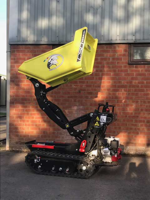 tracked barrow hire