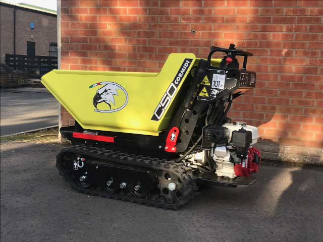 self-propelled tracked barrow hire ludlow