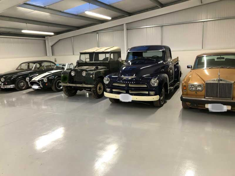 classic car storage in SY9 Ludlow Shropshire